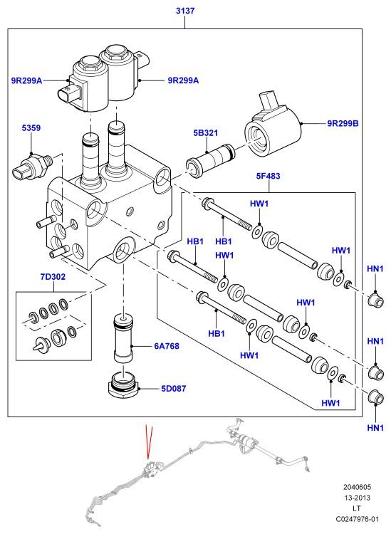 Каталог схема запчастей land rover